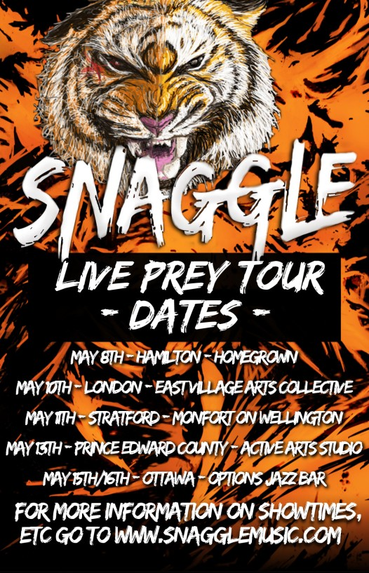 Snaggle Tour Poster