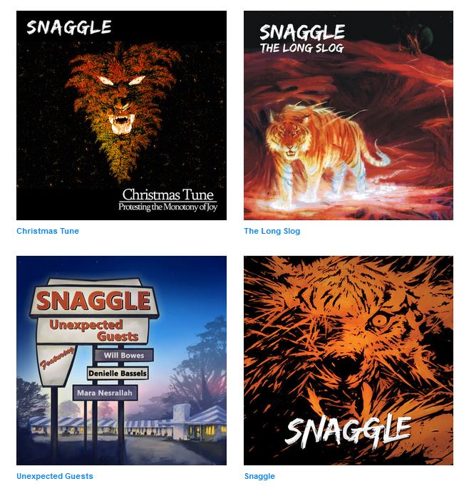 Snaggle Discography.JPG