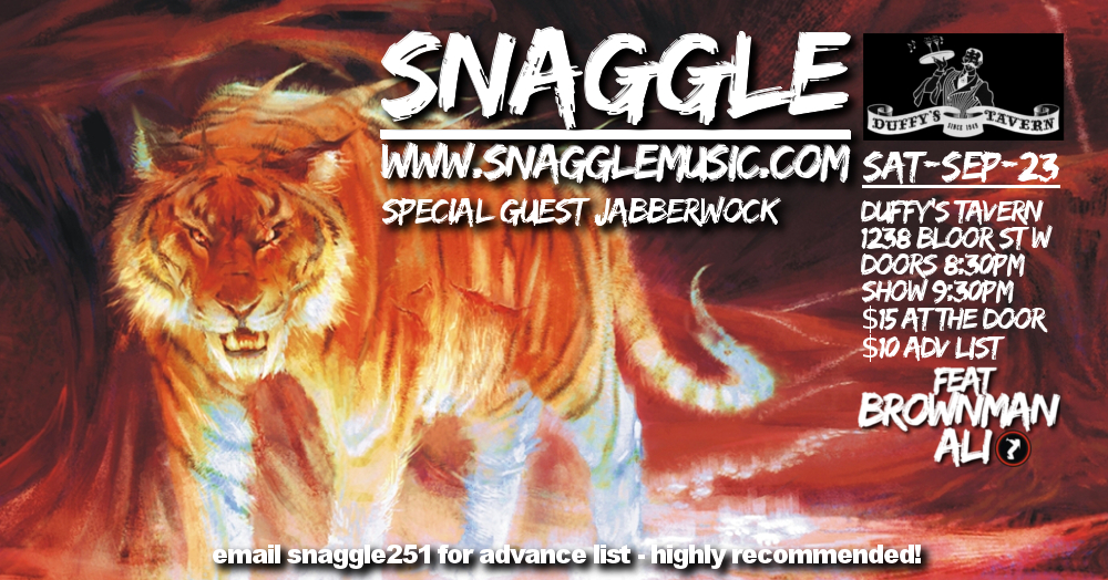 SnaggleJabberwock_Duffy'sTavern_Sep23